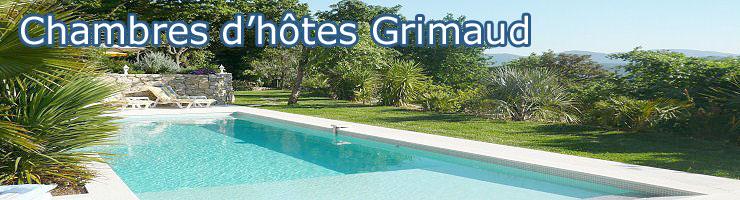 chambres d'hôtes grimaud port grimaud piscine terrasse privée